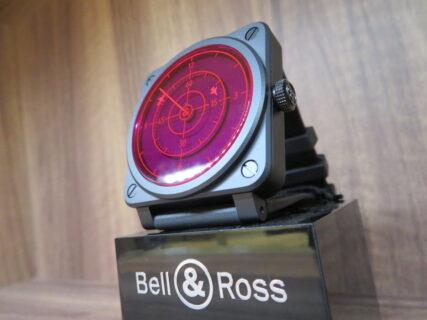 ベル&ロスの世界限定ユニークなモデルには今年も目が離せません!「BR 03-92 RED RADAR CERAMIC」
