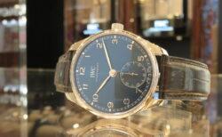 秋には正統派な大人時計でコーディネート、IWC『ポルトギーゼ・オートマティック40』。