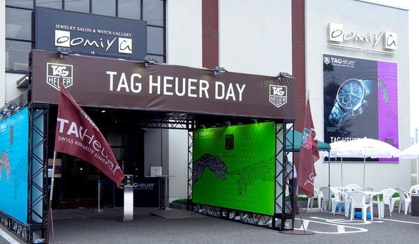 oomiya和歌山本店のスペシャルイベント「TAG HEUER DAY」来週ですよ!