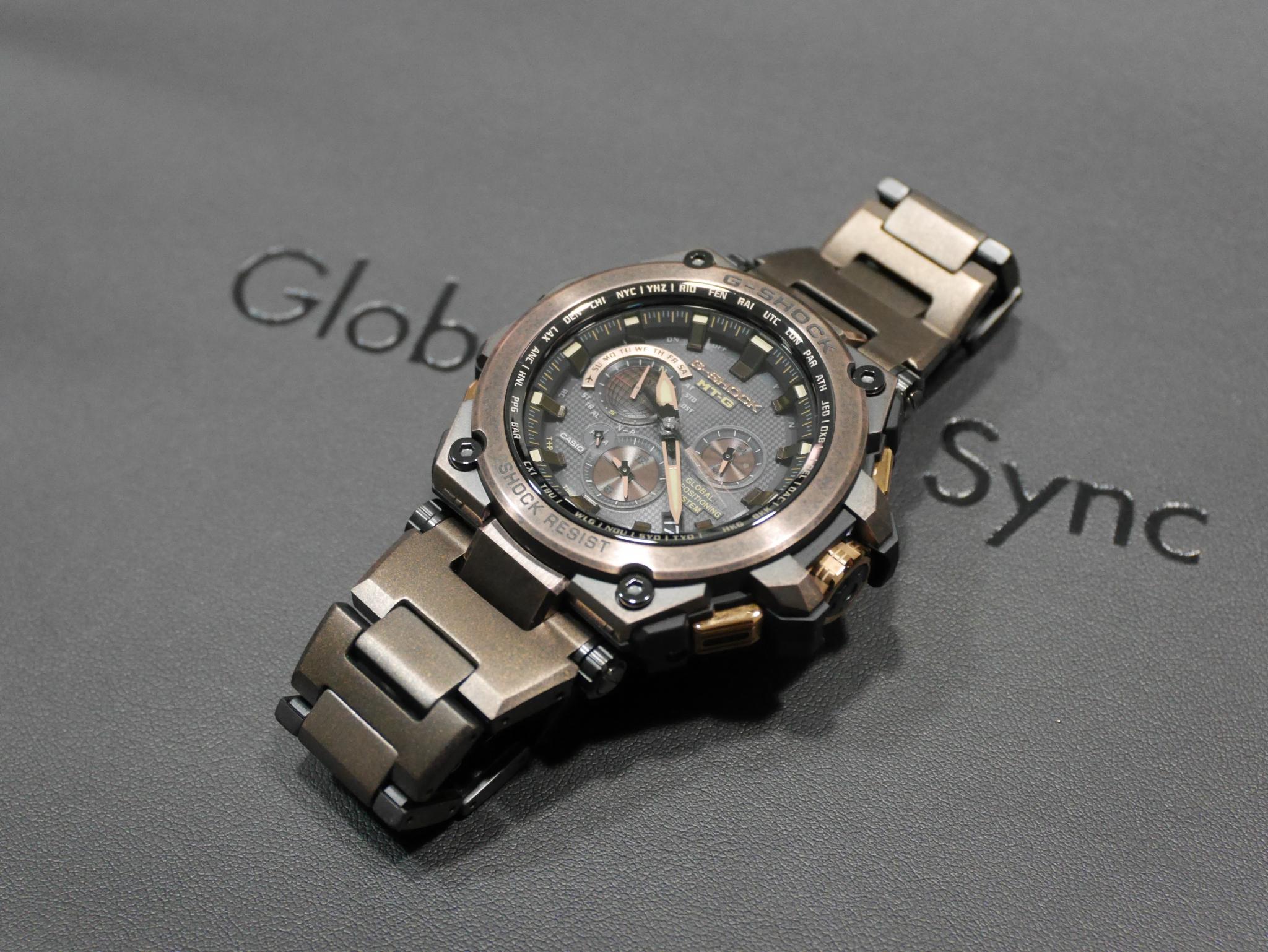 G-SHOCK エイジドIPを駆使したスペシャルモデル「MTG-G1000AR-1AJR」