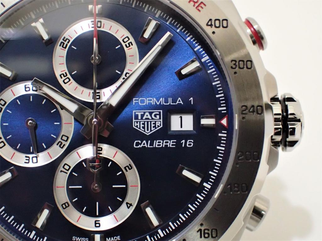 タグ・ホイヤー フォーミュラ1 CAZ2015.BA0876 鮮やかなブルーダイアルが追加!!