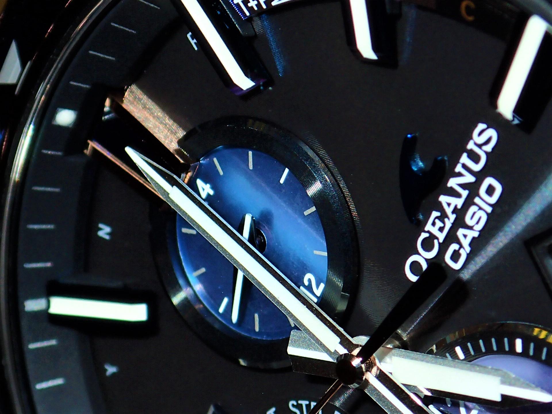 オシアナス 2017年新作 バーゼルワールド特別モデル 「OCW-G2000S 世界限定150本」入荷致しました!!-OCEANUS -P6168492