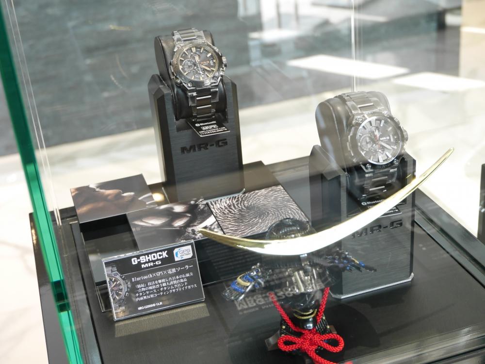 1月19日(金)より1月30日(火)までMR-Gフェア開催!歴代のMR-Gを店頭展示致します-G-SHOCK -P1350556