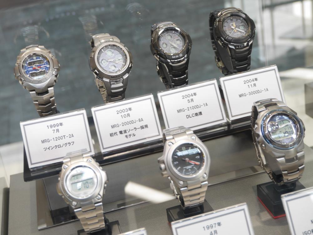 1月19日(金)より1月30日(火)までMR-Gフェア開催!歴代のMR-Gを店頭展示致します-G-SHOCK -P1350557