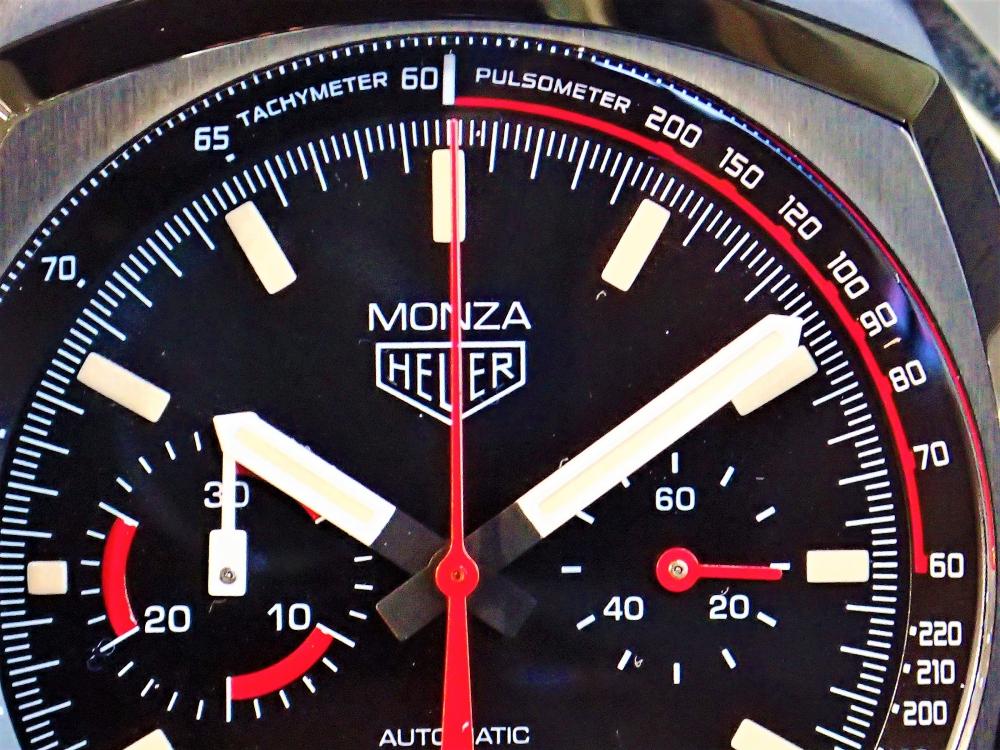 1976年の興奮を自分の腕に乗せてみよう『タグ・ホイヤー モンツァ キャリバー17 クロノグラフ』