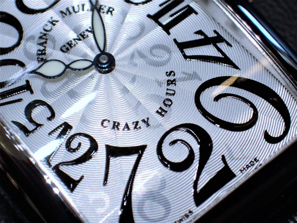異彩なデザインで時計の概念を覆したフランク・ミュラー『クレイジーアワーズ』
