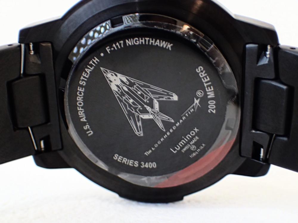 ルミノックス「ロッキードマーティンコレクション初号機」が堂々の復刻-Luminox -P3050006-1
