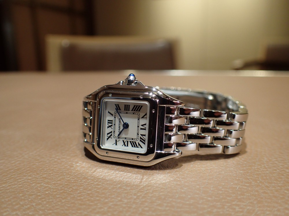 カルティエの中でもトップクラスの人気を誇るパンテールが再入荷しました-Cartier -P4101113