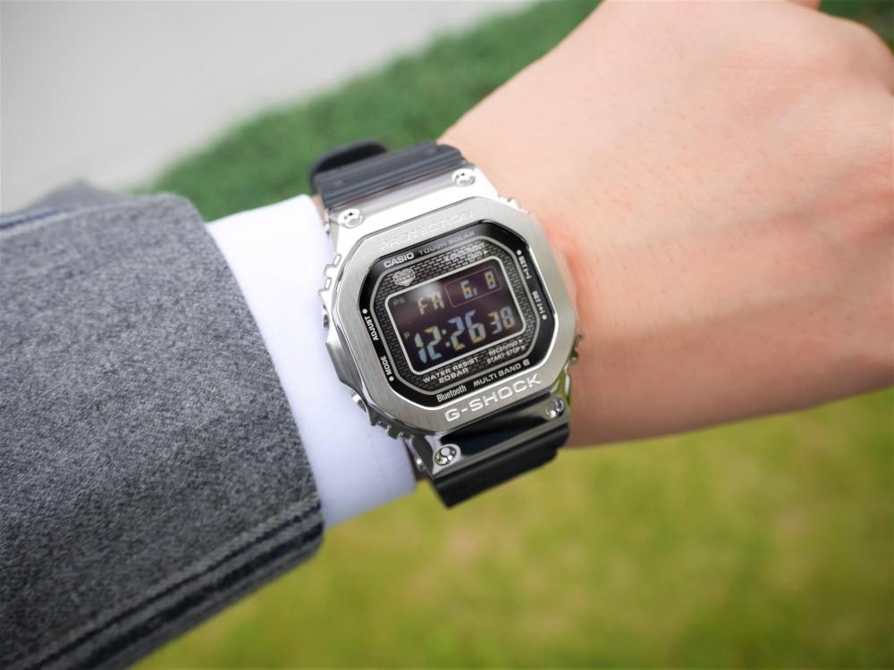 G-SHOCK フルメタルシリーズ GMW-B5000(銀・黒・金)入荷しました!!-G-SHOCK -P1360334