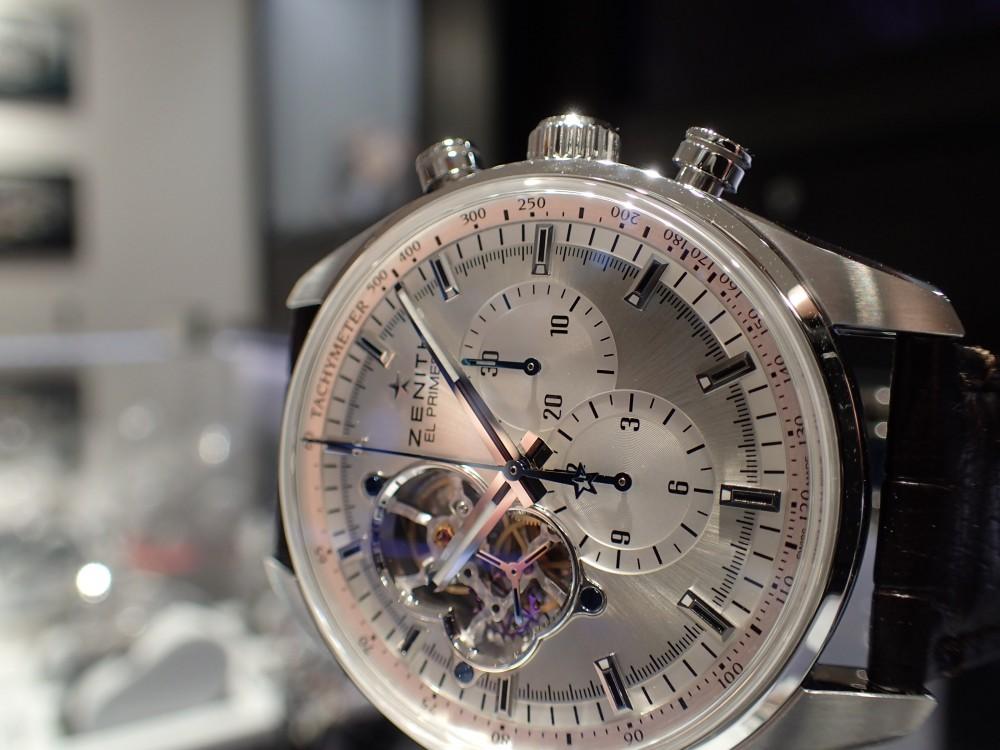 ゼニスの名作ムーヴメントが存分に愉しめる時計とは?-ZENITH -P5180013