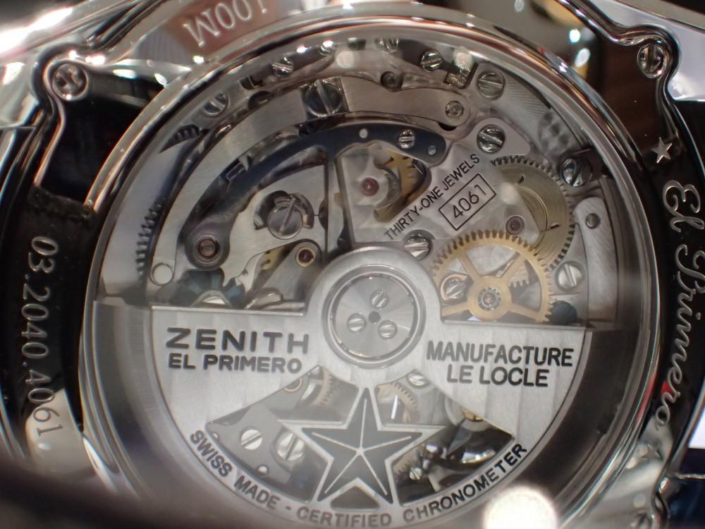 ゼニスの名作ムーヴメントが存分に愉しめる時計とは?-ZENITH -P5180024