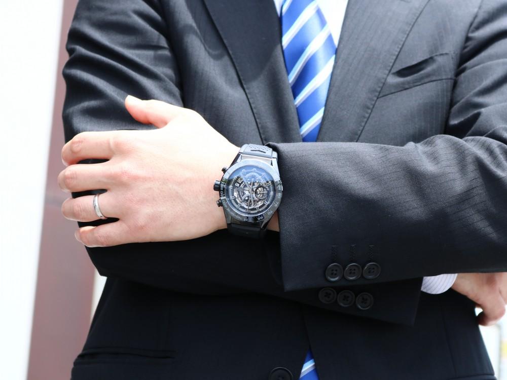 私が選んだ愛用時計「タグ・ホイヤー カレラ ホイヤー01 ブラックセラミック」