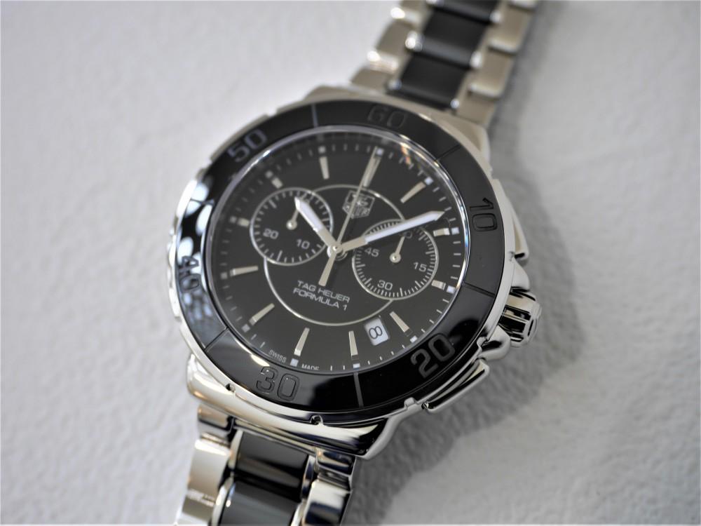 タグホイヤーフォーミュラ1クロノグラフ毎日ガンガン巻ける実用時計です♬-TAG Heuer -P1360301