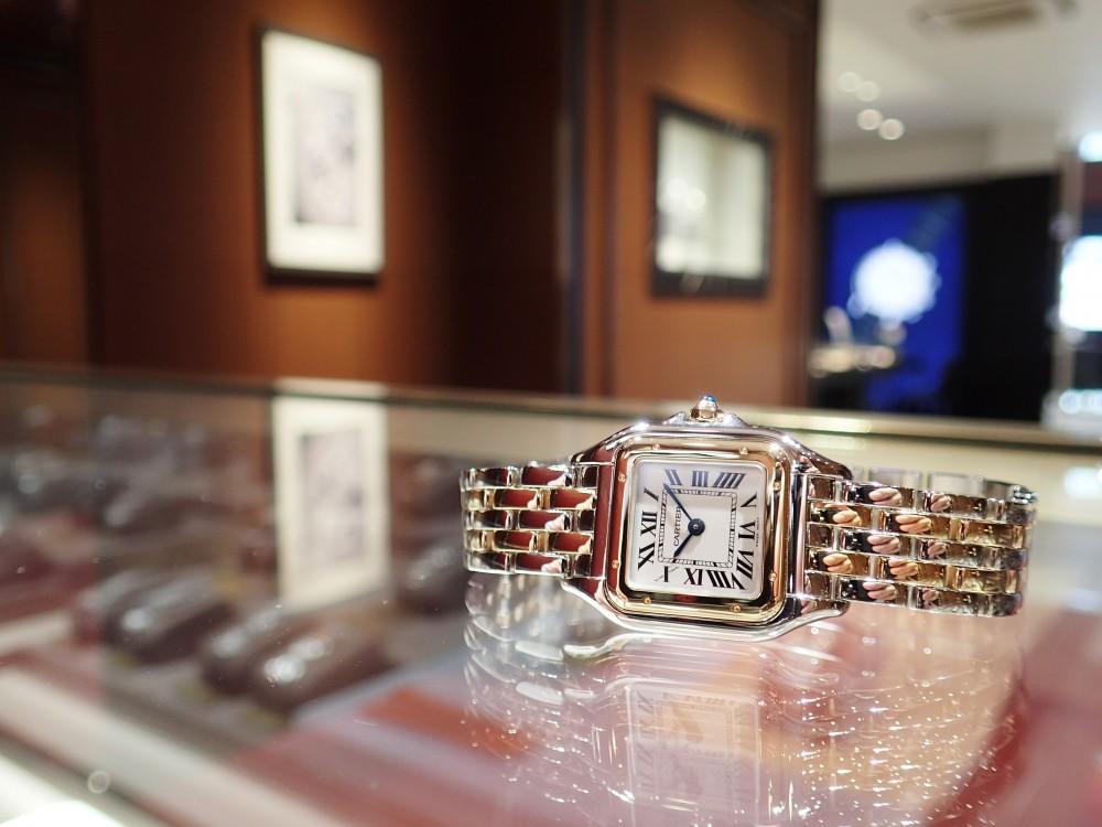カルティエの大人気モデル パンテールはコンビがおすすめ!-Cartier -P6070067