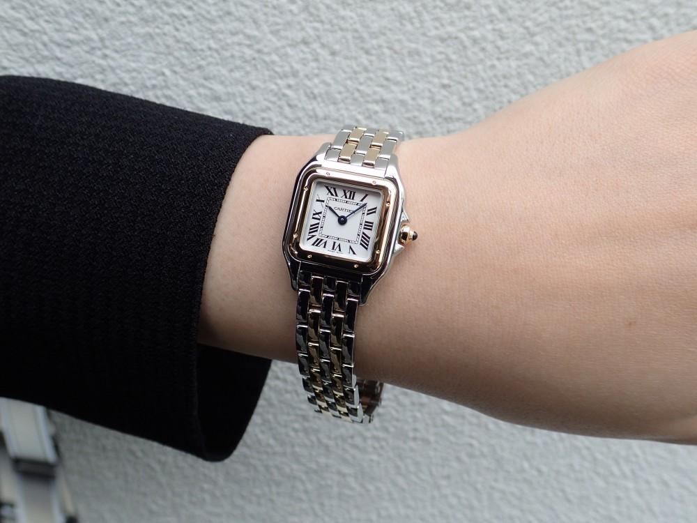 カルティエの大人気モデル パンテールはコンビがおすすめ!-Cartier -P6070082