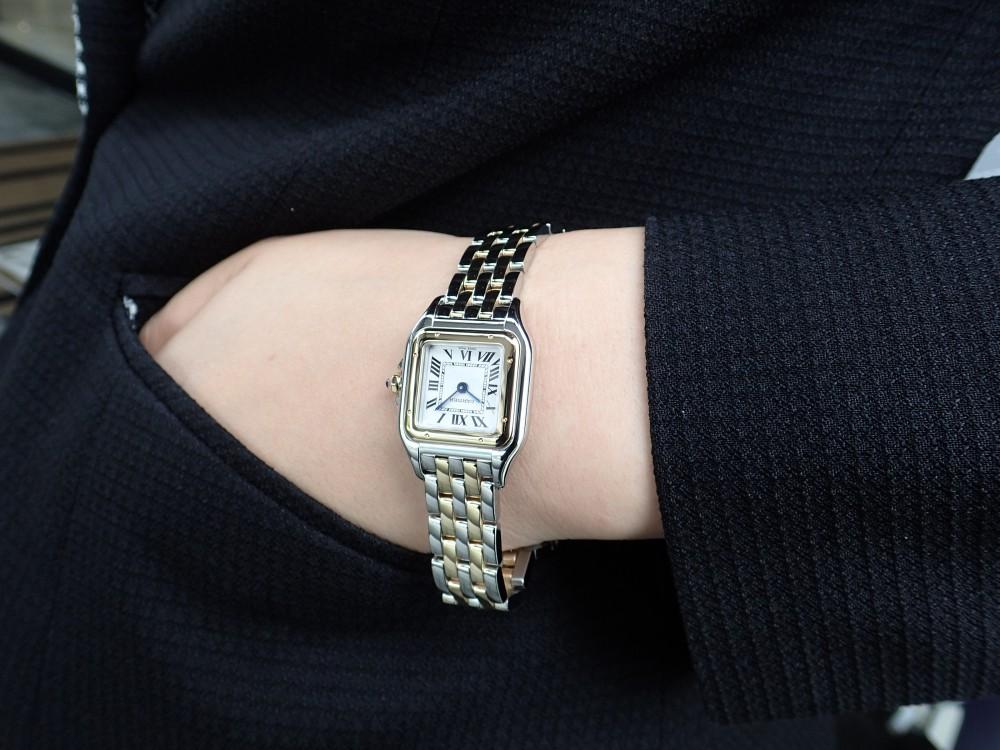 カルティエの大人気モデル パンテールはコンビがおすすめ!-Cartier -P6070087