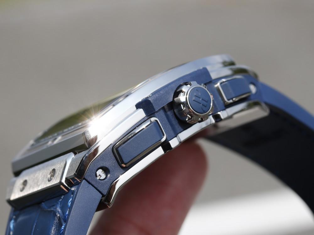 ウブロ 大迫力のトノー型シリーズ スピリット オブ ビッグ・バン チタニウム ブルー-HUBLOT -MG_8363