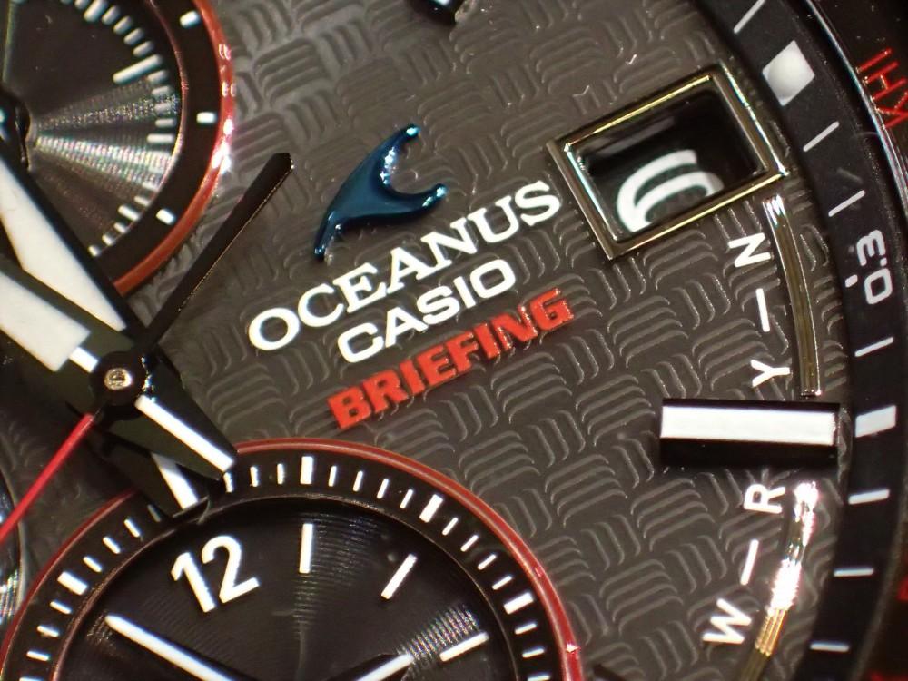 7月6日発売 『ブリーフィング×オシアナス』コラボモデル。旅をテーマにした1本。OCW-T2610BR-1AJRは完売