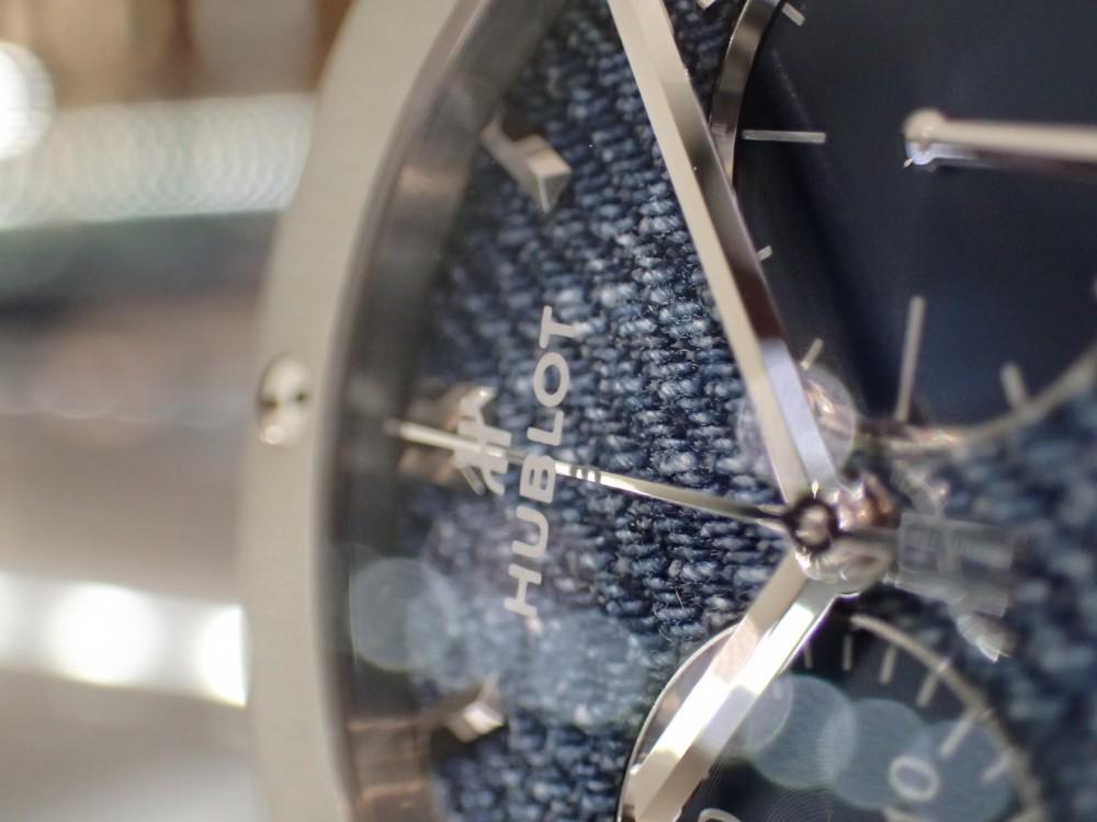 人とは違う時計をお探しの方に!ウブロ ジーンズを使用した日本限定モデル-HUBLOT -P7300840