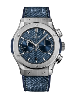 人とは違う時計をお探しの方に!ウブロ ジーンズを使用した日本限定モデル-HUBLOT -bw6497