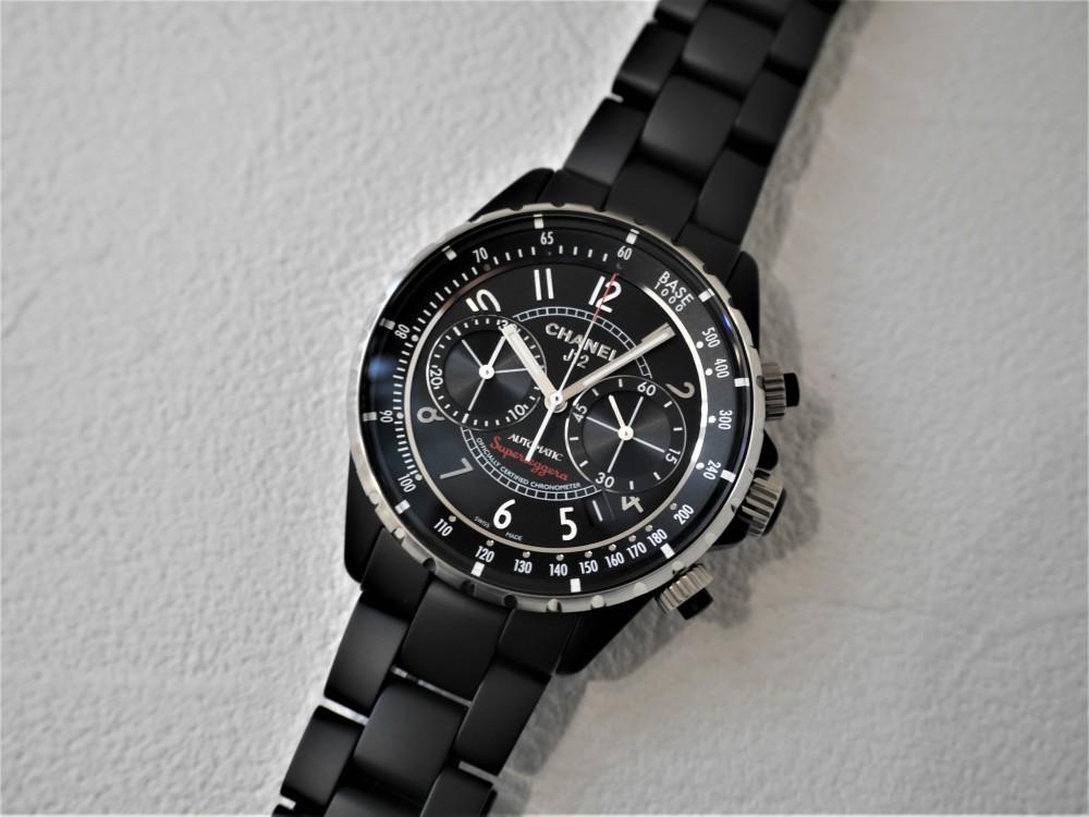 シャネル男らしい漆黒ケースにセンスを感じる大人の腕時計-CHANEL -P1360636