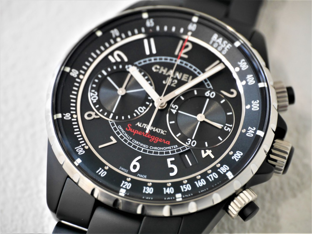 シャネル男らしい漆黒ケースにセンスを感じる大人の腕時計-CHANEL -P1360637