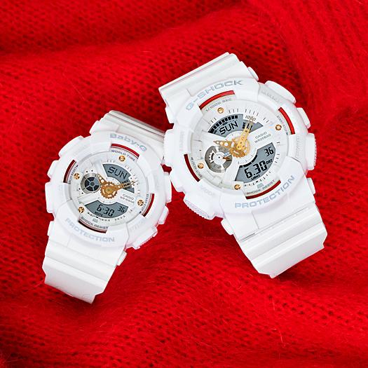 G-SHOCKの冬はペアモデルが熱い...ダイヤモンドモデル『Precious Heart』は、完売しました。-G-SHOCK -GA-110DDR_BA-110DDR_bs1