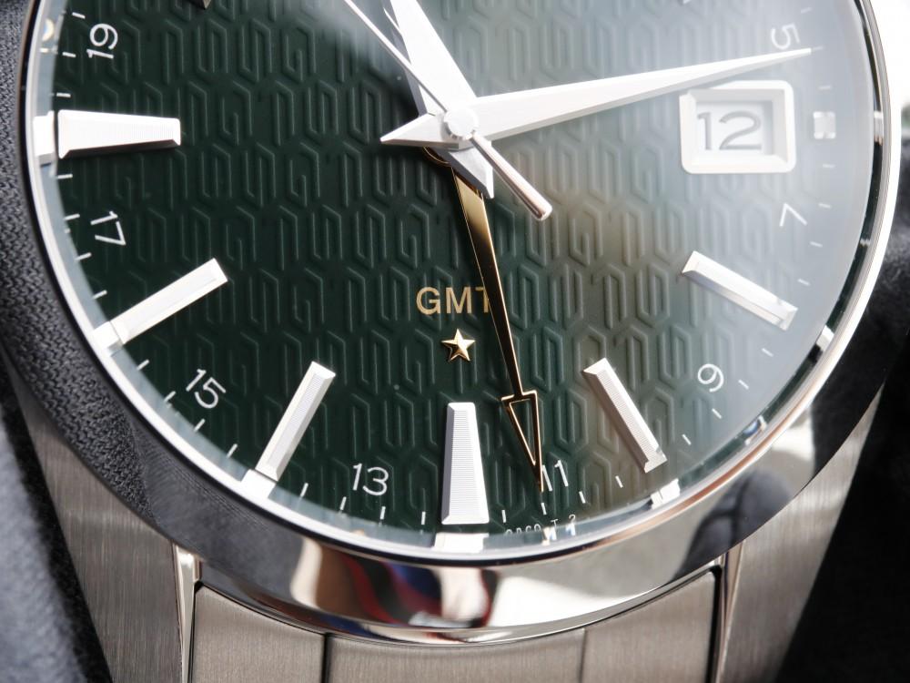 グランドセイコー 2018年新作 SBGN007 フォレストグリーンの文字盤にゴールドのロゴが映える限定モデル-Grand Seiko -MG_9054