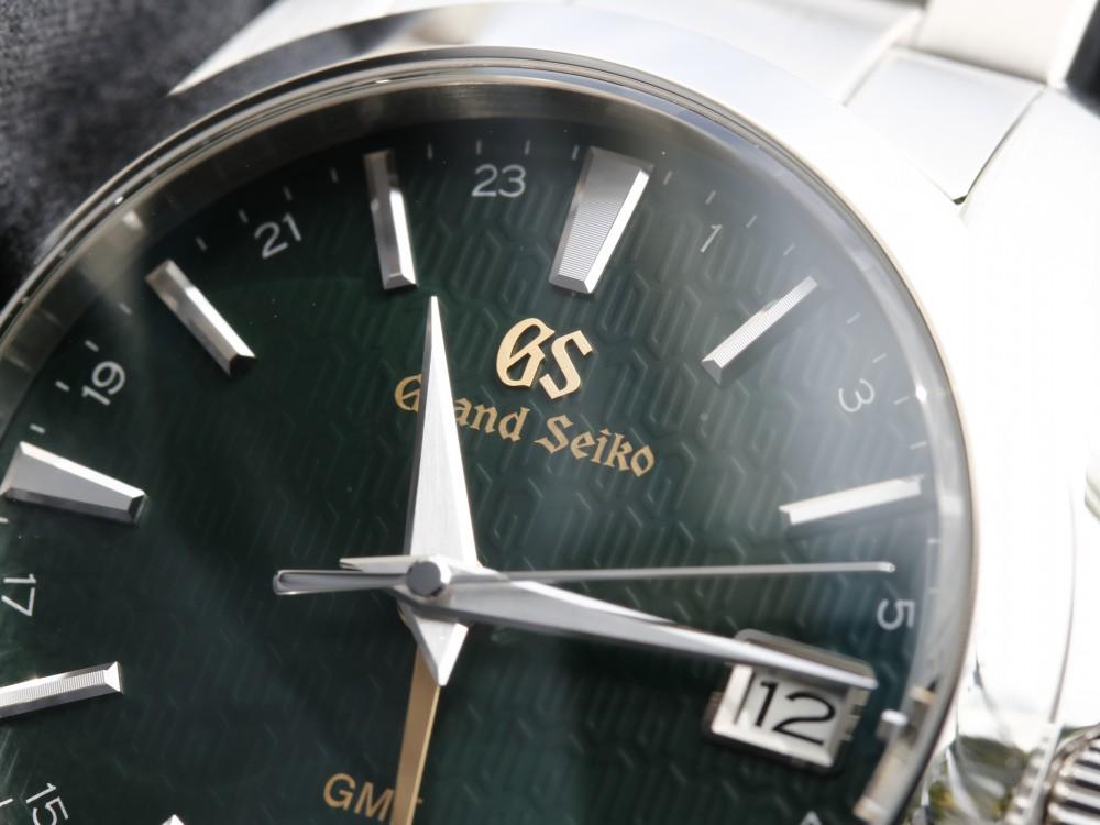 グランドセイコー 2018年新作 SBGN007 フォレストグリーンの文字盤にゴールドのロゴが映える限定モデル-Grand Seiko -MG_9057
