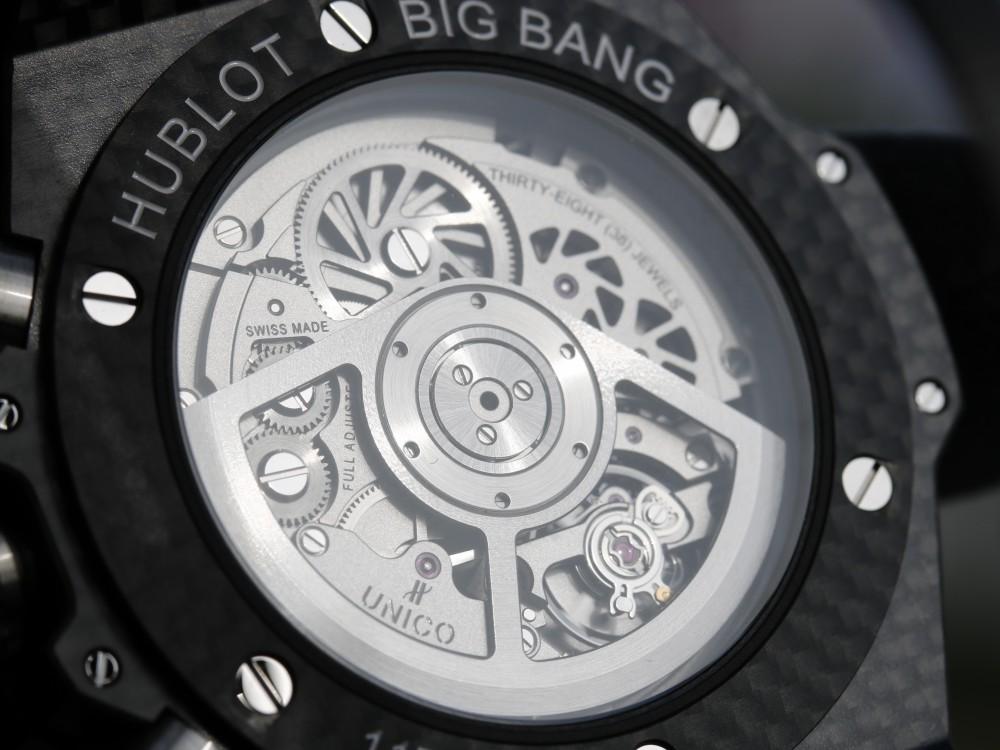ウブロフェア目玉商品! 生産終了モデル カーボンモデルを手に入れるラストチャンス!は完売-HUBLOT -MG_9180