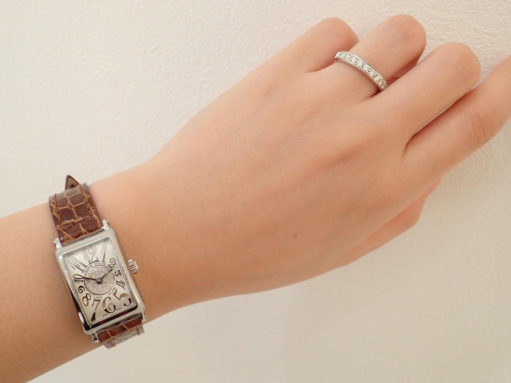 お勧めセットアップ! フランク ミュラーの時計と相性抜群のリング-FRANCK MULLER -PA050102