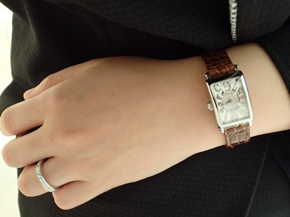 お勧めセットアップ! フランク ミュラーの時計と相性抜群のリング-FRANCK MULLER -PA050104