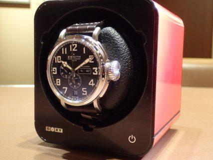 自動巻き時計の駆動時間を延長させる便利アイテム