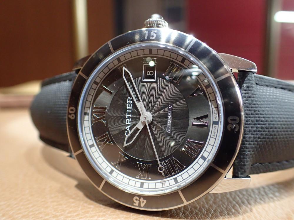 漂う大人の雰囲気 カルティエ ロンド クロワジエール-Cartier -PB060273-1