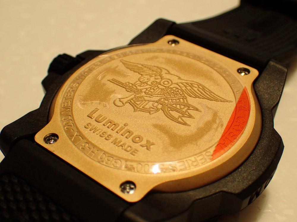 ルミノックス待望ゴールドカラーの限定モデルが3500シリーズに追加-Luminox -PB290318