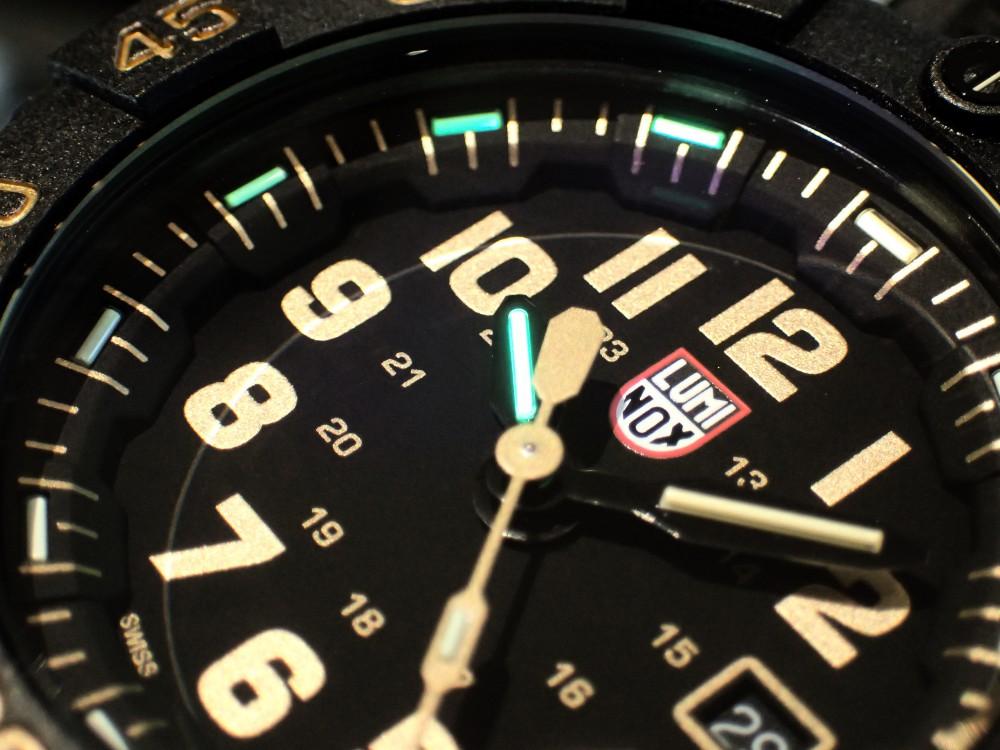 ルミノックス待望ゴールドカラーの限定モデルが3500シリーズに追加-Luminox -PB290319