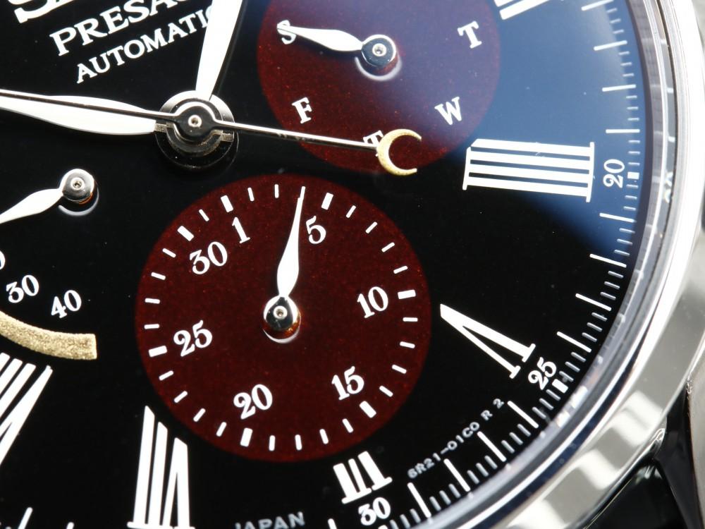 セイコープレザージュ 2018年新作モデル 漆・白檀(うるし・びゃくだん)限定モデル SARW045-PRESAGE SEIKO -MG_9806