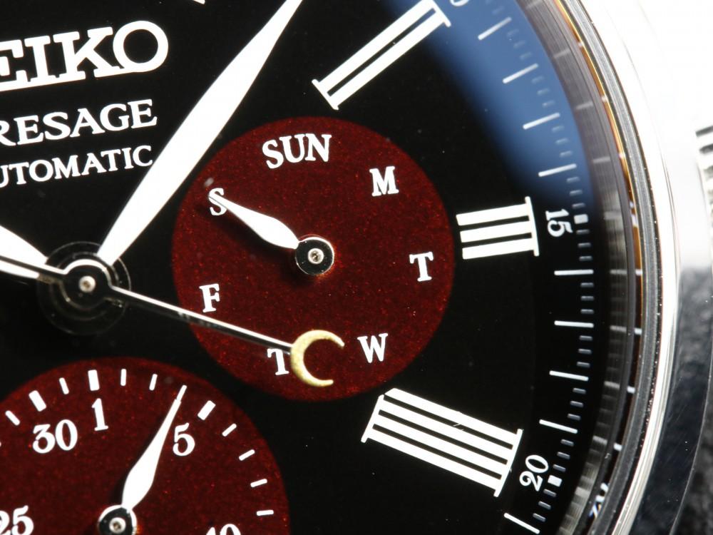 セイコープレザージュ 2018年新作モデル 漆・白檀(うるし・びゃくだん)限定モデル SARW045-PRESAGE SEIKO -MG_9809