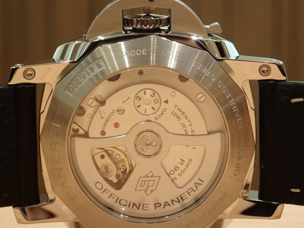 24表示のGMTが見やすいパネライ!PAM00531-PANERAI -PC180759