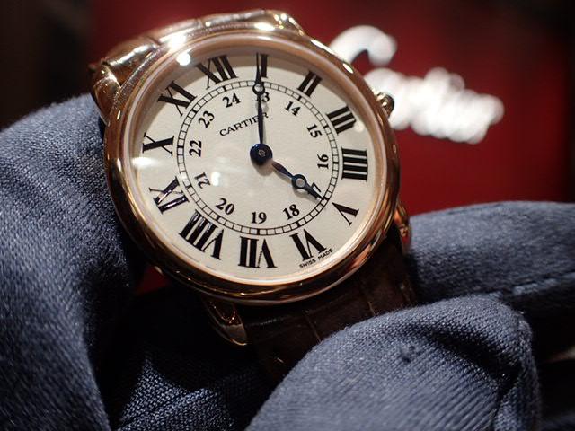 ドレスウォッチはカルティエで...ロンド ルイ カルティエ-Cartier -PC270922