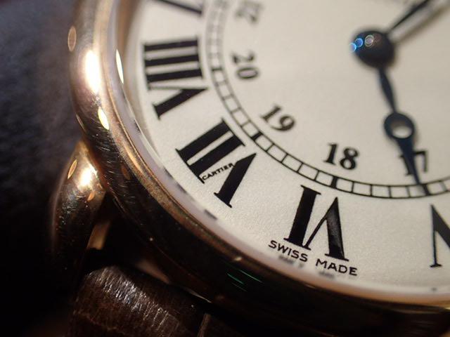 ドレスウォッチはカルティエで...ロンド ルイ カルティエ-Cartier -PC270923