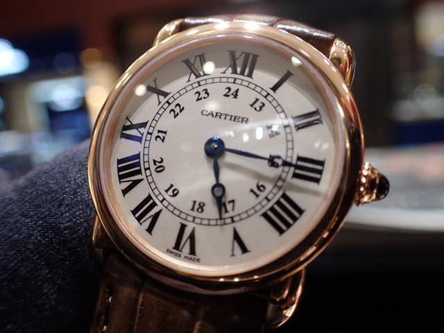ドレスウォッチはカルティエで...ロンド ルイ カルティエ-Cartier -PC270925
