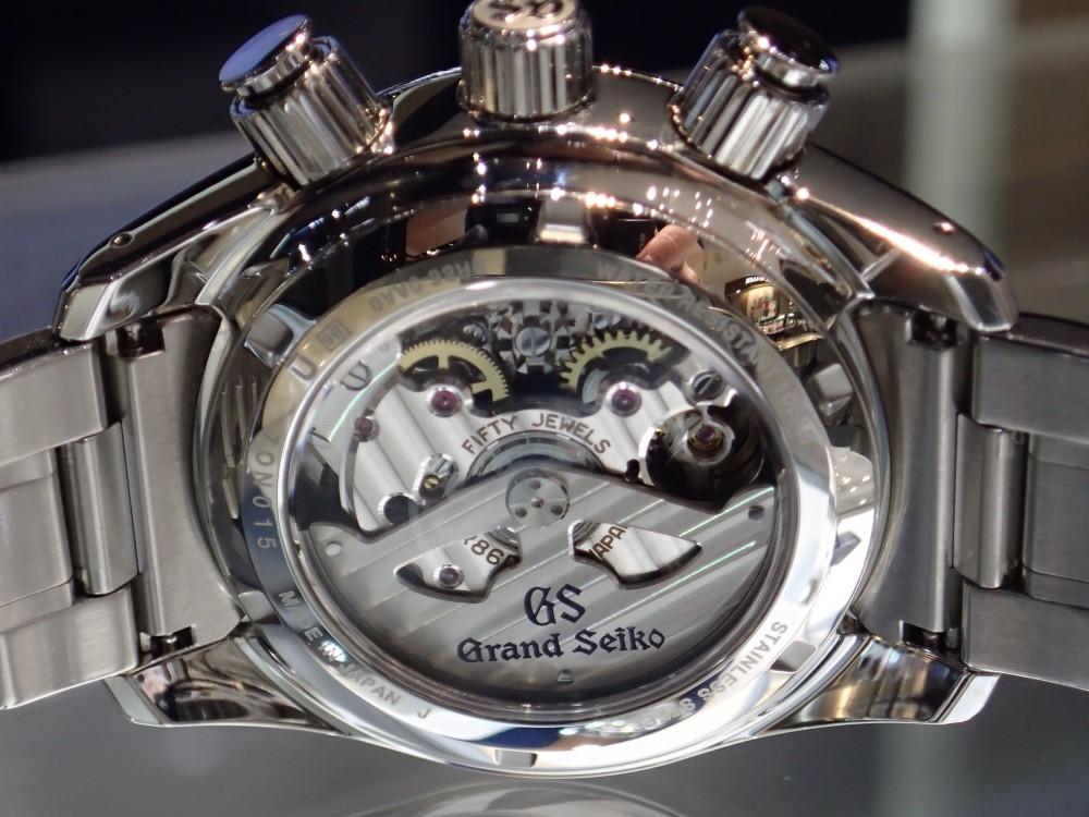 """日本が世界に誇るグランドセイコー""""マスターショップ限定モデル""""SBGC203-Grand Seiko -P1280042"""