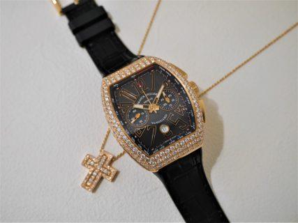 フランクミュラーヴァンガードダイヤモンド優雅な時を楽しみませんか?
