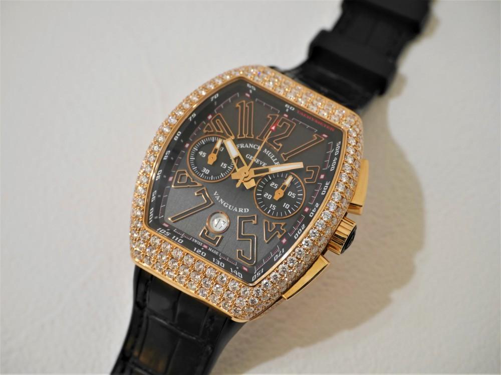 フランクミュラーヴァンガードダイヤモンド優雅な時を楽しみませんか?-FRANCK MULLER -P1370801
