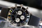 リサイクル素材でベルトを作った時計でecoを感じる ブライトリング スーパーオーシャン・ヘリテージⅡクロノグラフ44アウターノウン