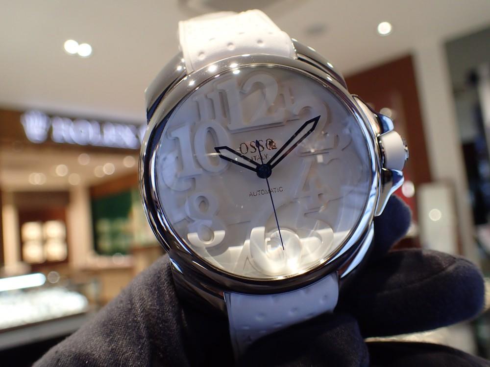 個性的な時計に注目 オッソイタリィ ヴィゴローソ-OSSO ITALY -P2010056