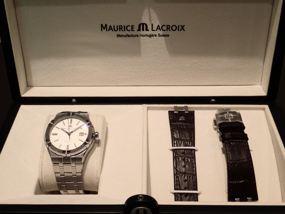 モーリスラクロア・フェアはこんなにもお得な特典が盛り沢山だった-MAURICE LACROIX フェアー&イベント情報 -P2050133
