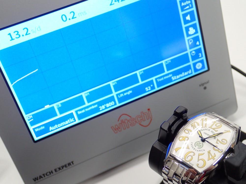 新しい歩度測定器が到着しました!-メンテナンス -P3010111
