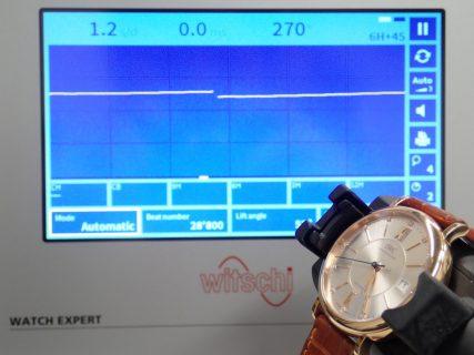 新しい歩度測定器が到着しました!